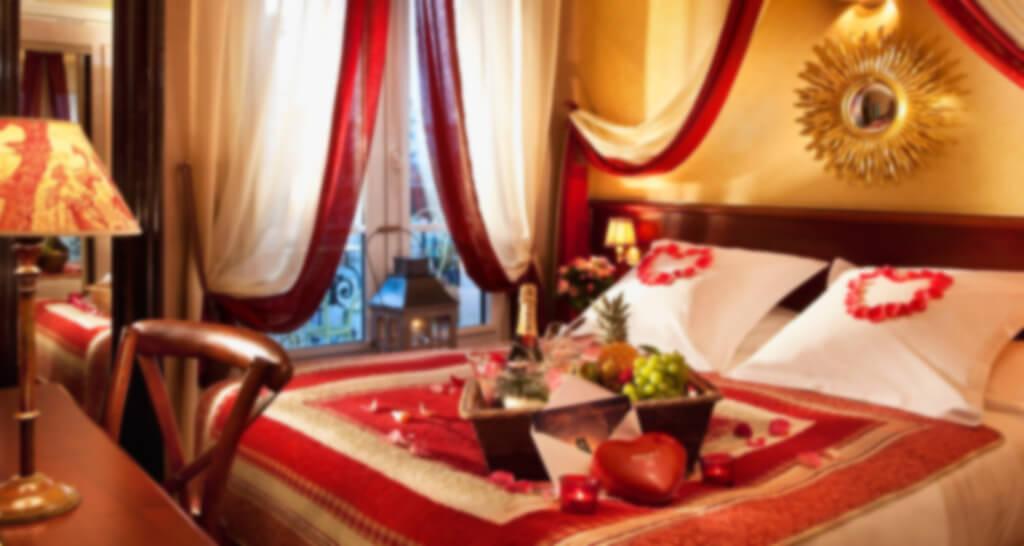 Romantisch leuk hotel - Romantische kameratmosfeer ...